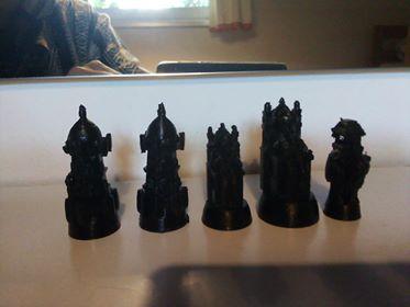 Chaturanga figurki beta